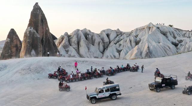 Kapadokya turist sayısında son beş yılın rekorunu kırdı