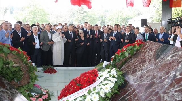İdam edilen merhum başbakan Adnan Menderes ve arkadaşları anıldı