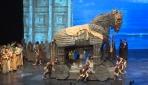 Antalyada Troya epik operası sahnelendi