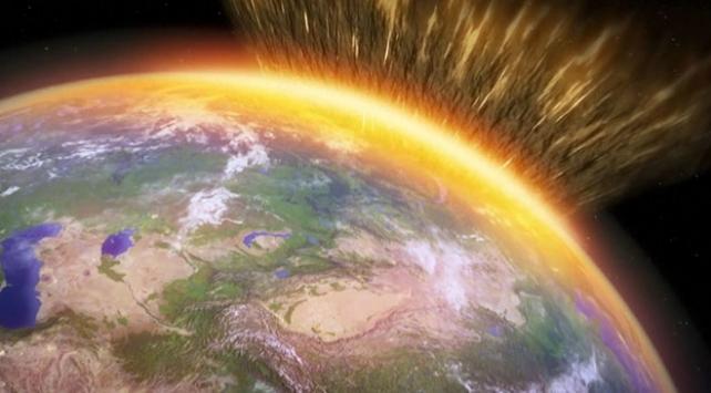 Dünya'ya çarpan gök taşı küresel soğumayı tetikledi