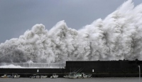 Japonya'da Faxai Tayfunu etkili oluyor