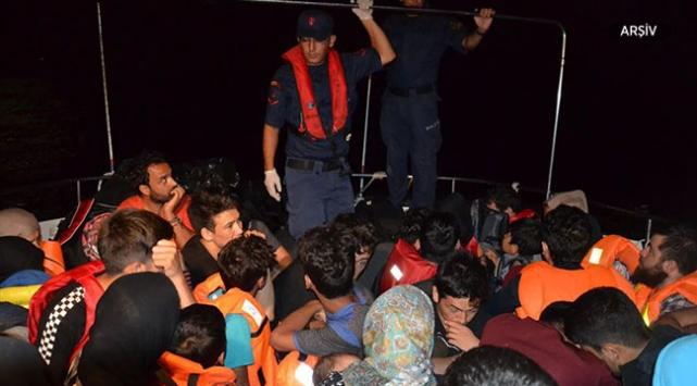 Balıkesirde 73 düzensiz göçmen yakalandı