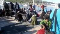 Çeşme'de 225 kaçak göçmen yakalandı