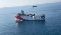 Oruçreis'e Doğu Akdeniz yolunda donanma eşlik ediyor