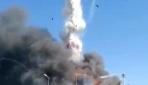 Tuzladaki fabrika yangınında tanker patladı 3 itfaiye eri yaralandı