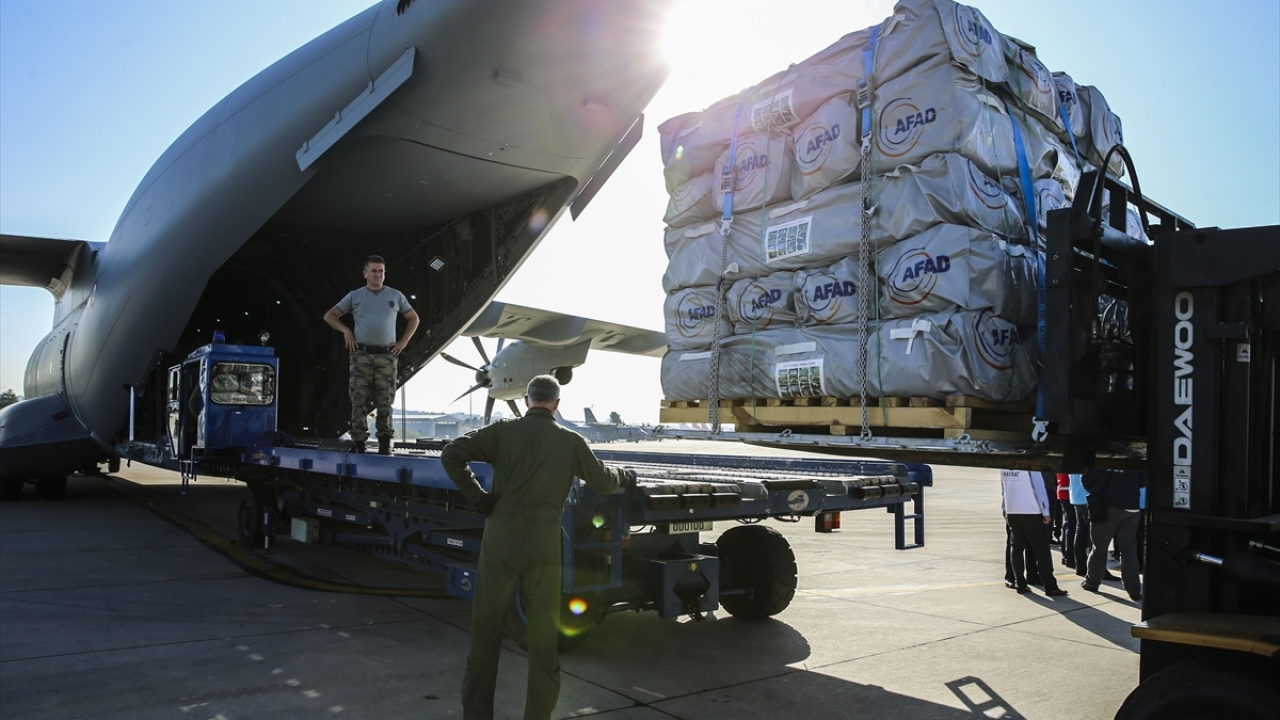 Türkiyeden Sudana insani yardım