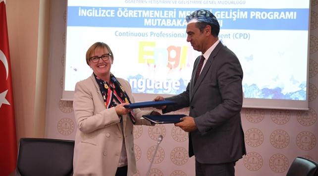 MEBden İngilizce öğretmenlerinin eğitimi için iş birliği