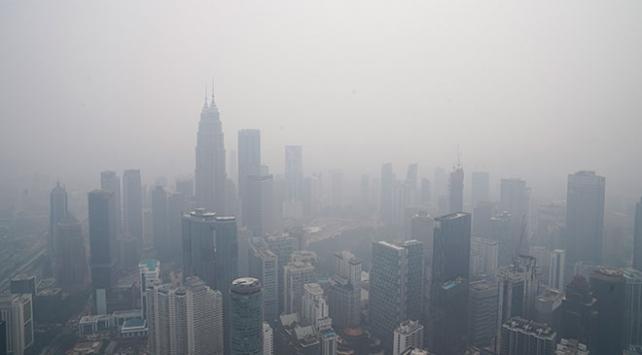 Malezyada eğitime hava kirliliği engel oldu