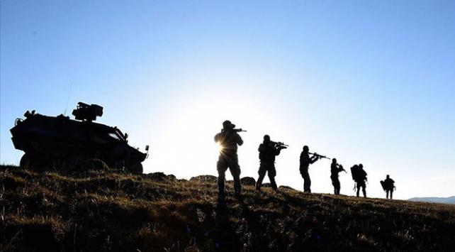 Hakkari kırsalında silahlı 2 terörist etkisiz hale getirildi
