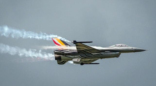 Belçika'ya ait F16 savaş uçağı Fransa'da düştü
