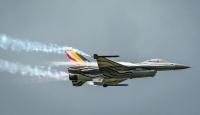 Belçika'ya ait F16 savaş uçağı Fransa'ya düştü