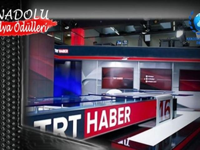 Anadolu Medya Ödülleri'nde TRT'ye 3 dalda ödül