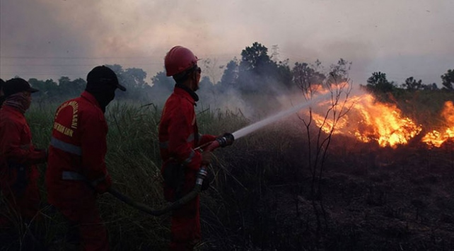 Endonezyadaki orman yangınları için özel ekip kurulacak