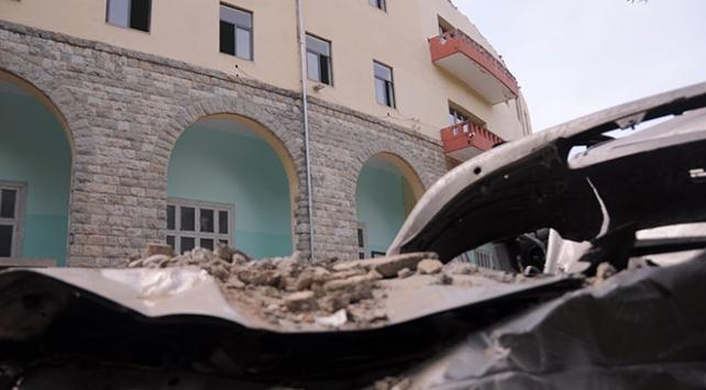 Arnavutluk'taki 5,8 büyüklüğündeki depremde 132 kişi yaralandı