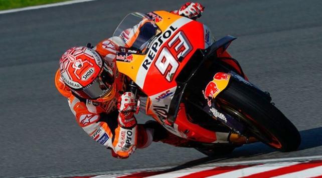 MotoGPde sezonun 14. ayağında zafer Marquezin