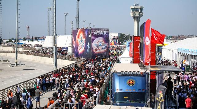 TEKNOFEST İstanbulu 1 milyon 720 bin kişi gezdi