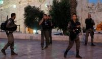 İsrail polisi Kudüs'te 25 Filistinliyi gözaltına aldı