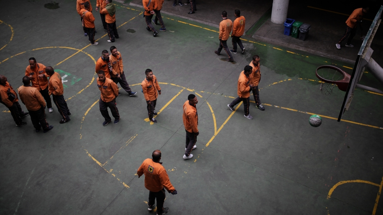 Kolombiyanın örnek hapishanesinde yaşam