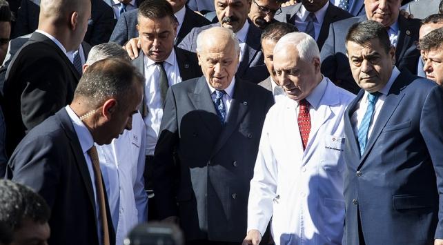 MHP Genel Başkanı Bahçeli taburcu oldu