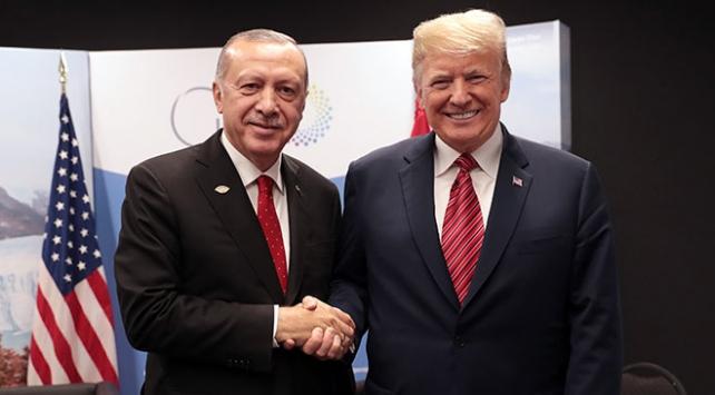 ABD Başkanı Trumptan Cumhurbaşkanı Erdoğana teşekkür