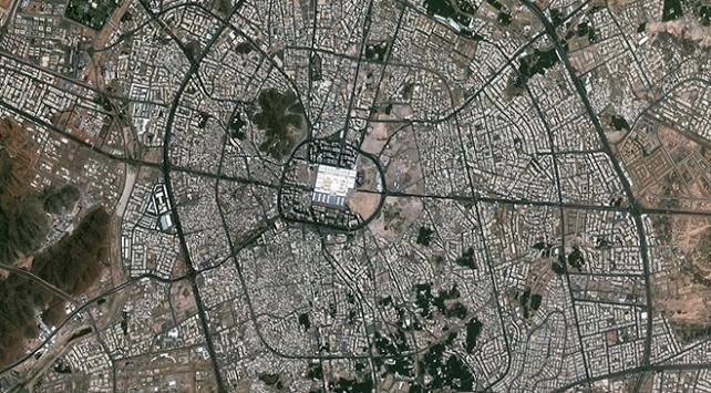 GÖKTÜRK-2 uydusu kutsal toprakları görüntüledi