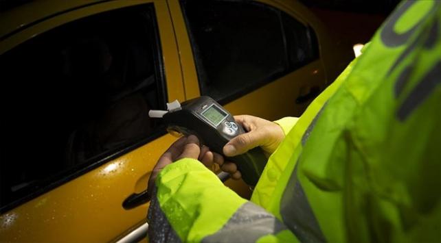 8 ayda 105 bin alkollü sürücüye işlem yapıldı