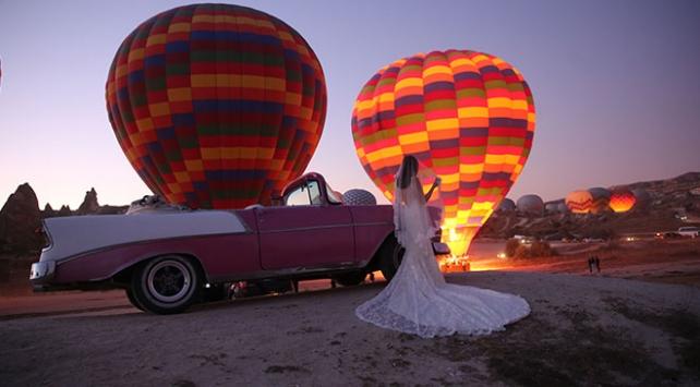 Kapadokyada yeni aktivite: Klasik otomobil turu