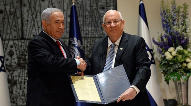 İsrail Cumhurbaşkanı Rivlin hükümeti kurma görevini Netanyahuya verdi