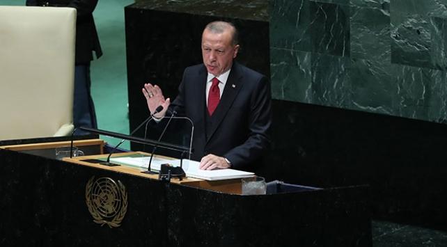 Cumhurbaşkanı Erdoğan, New Yorkta yoğun mesaisini tamamladı
