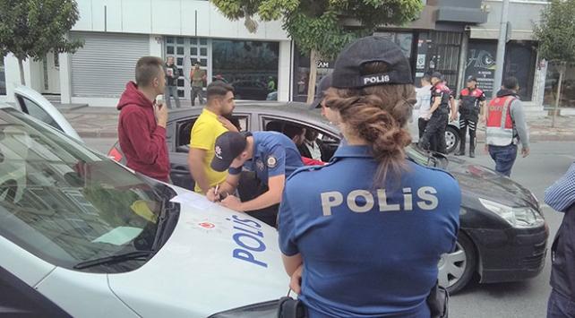 5 bin 63 araç sürücüsüne sigara cezası