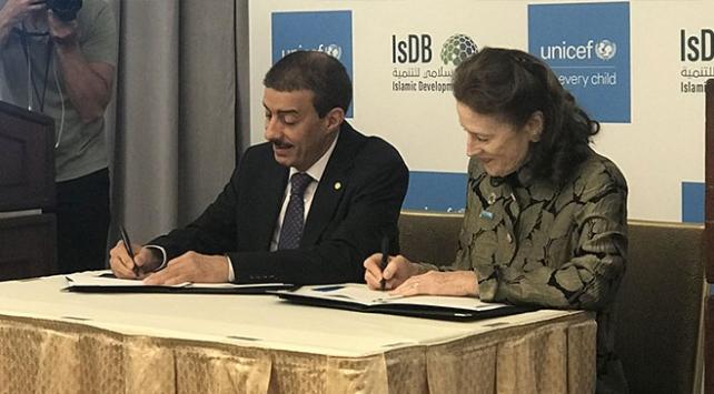 UNICEF ve İslam Kalkınma Bankasından insani yardımlar için ortak fon