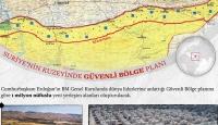 İşte Cumhurbaşkanı Erdoğan'ın dünya liderlerine anlattığı güvenli bölge planı