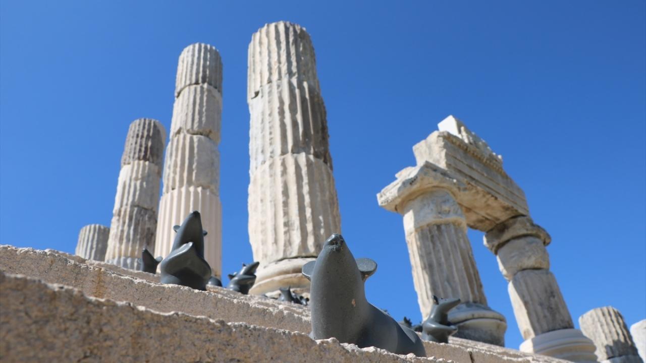 Apollon Smintheus Kutsal alanı ziyaretçilerini bekliyor