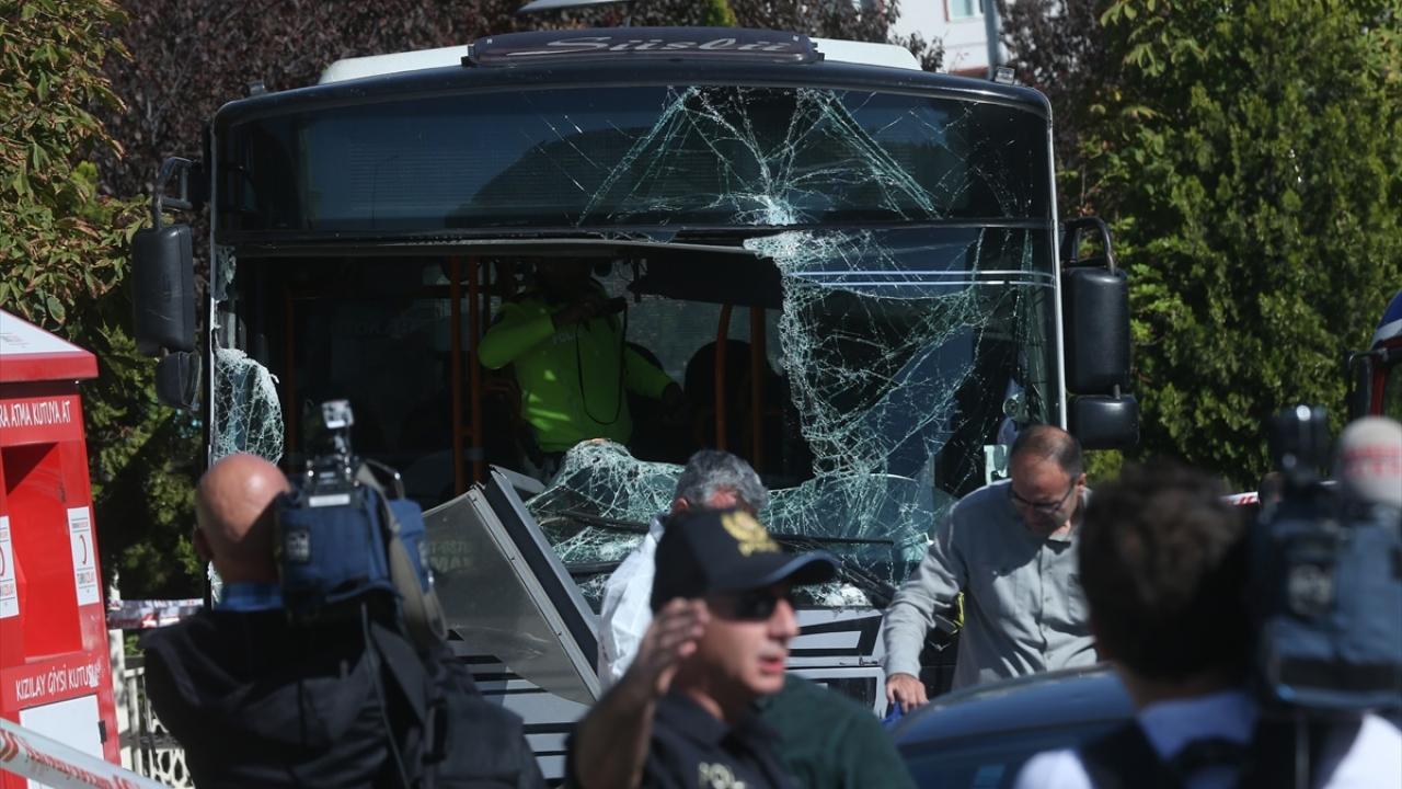Ankarada otobüs kazası: 3 ölü
