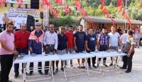 Antalya Kaş'ta Doğantaş Bal ve Hasat Şenliği yapıldı