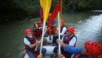 Melen Çayı'nda 65 yaş üstü rafting turu