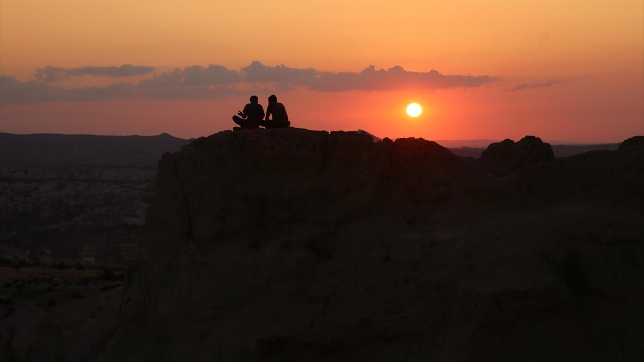 Kızılçukur Vadisinde gün batımı bir başka güzel