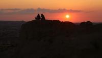 Kızılçukur Vadisi'nde gün batımı bir başka güzel