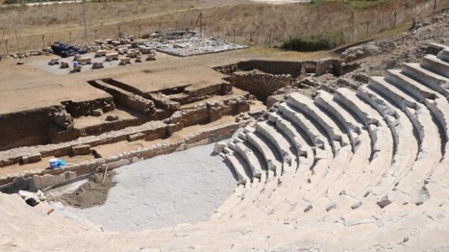 Parion Antik Kentinin sahnesi ortaya çıktı
