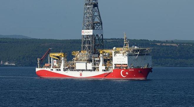 Yavuz Doğu Akdenizde yeni görev yerine ilerliyor