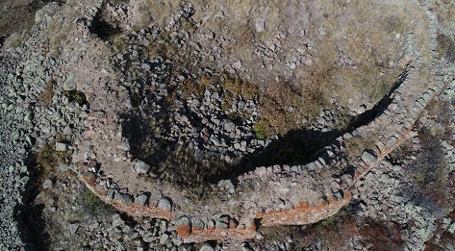 Erzurumda tarihi kale bulundu