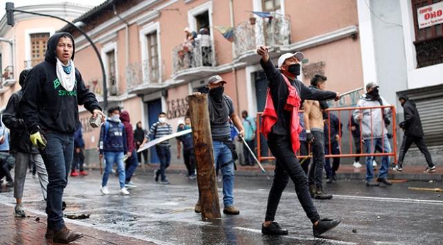 Ekvadorda olağanüstü hal ilan edildi