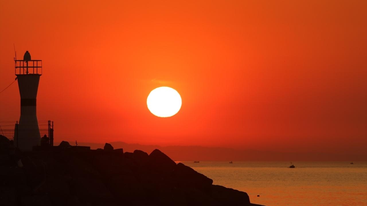 """""""Batı Karadenizin İncisi""""nde gün batımı"""