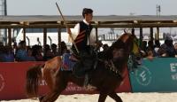 Etnospor Kültür Festivali'nin en genç ciritçisi