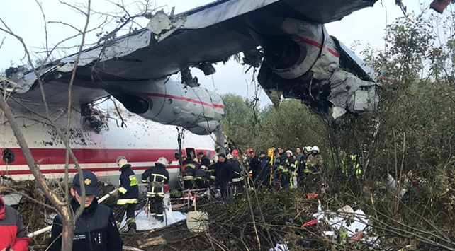 İspanyadan İstanbula giden kargo uçağı Ukraynada düştü