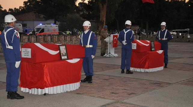 Cumhurbaşkanı Erdoğandan şehit ailelerine telgraf