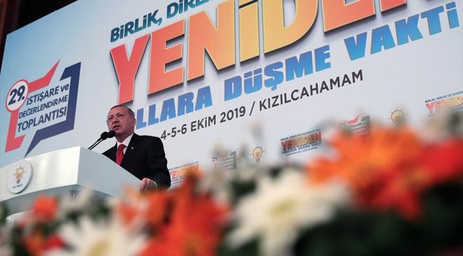 Cumhurbaşkanı Erdoğan: Amacımız Fıratın doğusunu barış pınarlarıyla sulamak