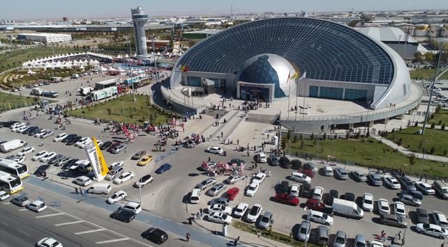 7. Konya Bilim Festivalini 150 bin kişi gezdi