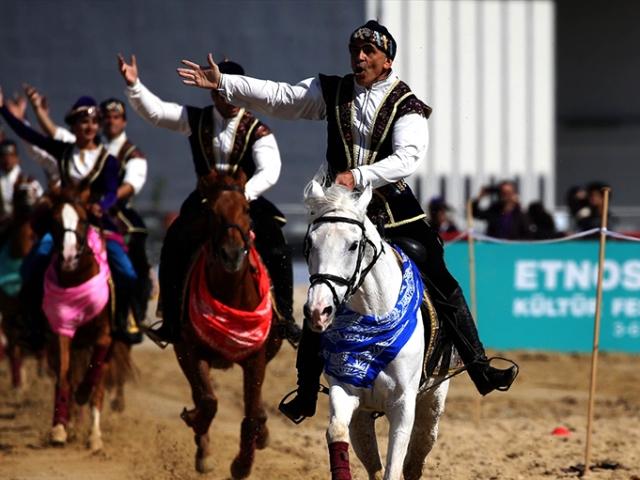 Bu yıl dördüncüsü düzenlenen Etnospor Kültür Festivali sona erdi