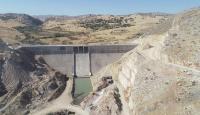 Ergani Barajı dolmaya başladı